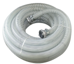 Spiral hose for dry material 55 with fittings 25m